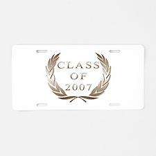 class of 2007 Aluminum License Plate