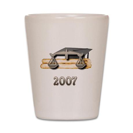 Law Grad 2007 Shot Glass