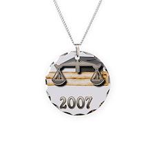 Law Grad 2007 Necklace