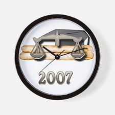 Law Grad 2007 Wall Clock