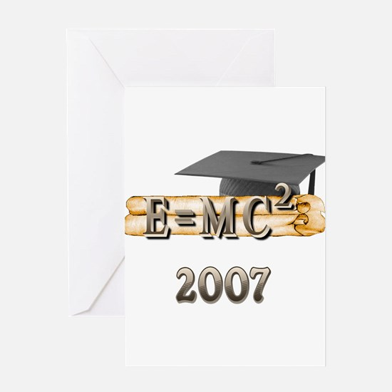 Physics Grad 2007 Greeting Card