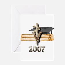 Veterinary Grad 2007 Greeting Card