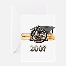 Dental Grad 2007 Greeting Card