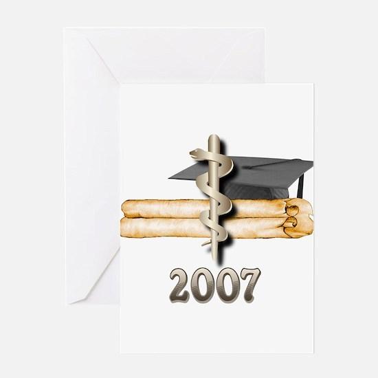 Medical Grad 2007 Greeting Card