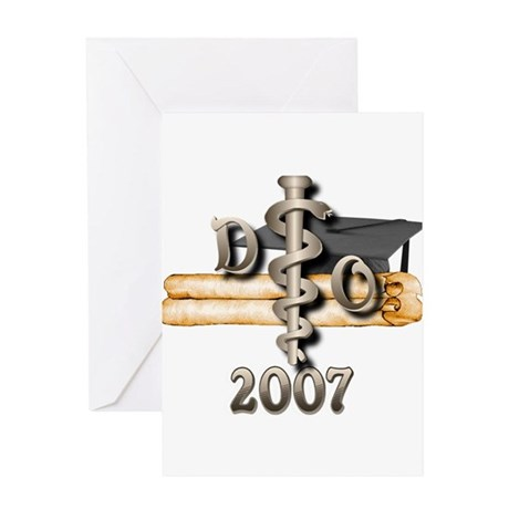 Osteopathic Grad Greeting Card