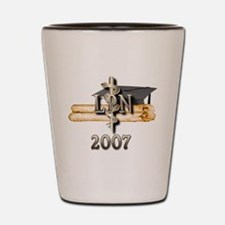 LPN Grad 2007 Shot Glass