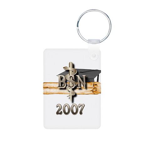 BSN Grad 2007 Aluminum Photo Keychain
