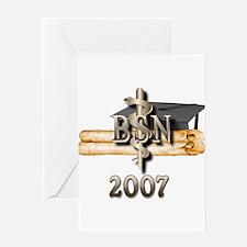 BSN Grad 2007 Greeting Card