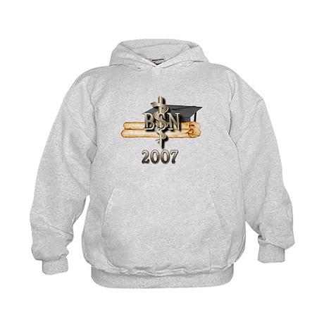 BSN Grad 2007 Kids Hoodie