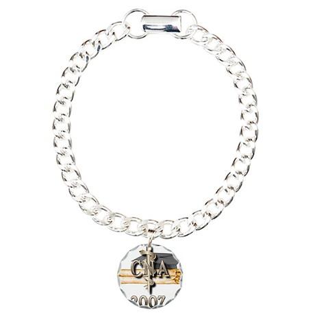 CNA Grad 2007 Charm Bracelet, One Charm