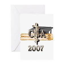 CNA Grad 2007 Greeting Card