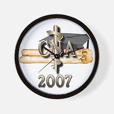 CNA Grad 2007 Wall Clock
