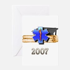 EMS/EMT Grad 2007 Greeting Card
