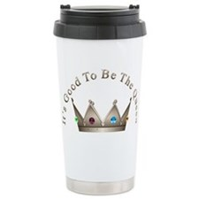 Good to be Queen Travel Coffee Mug