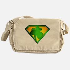 Super Shamrock Messenger Bag