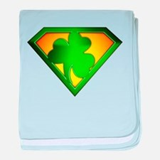 Super Shamrock baby blanket