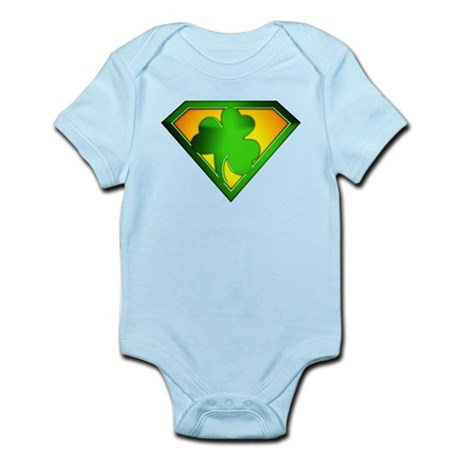 Super Shamrock Infant Bodysuit