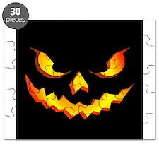 Halloween Pumpkin Face Puzzle