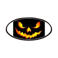 Halloween Pumpkin Face Patches