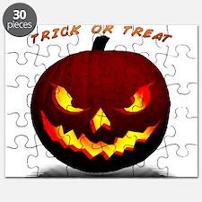 Scary Halloween Pumpkin Puzzle