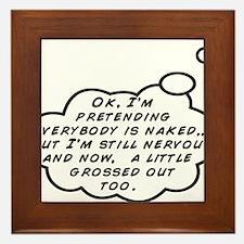 Public Speaking Trick Framed Tile
