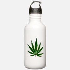 Cute Weed Sports Water Bottle