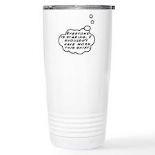 Staring Travel Coffee Mug