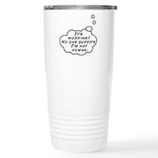 Not Human Travel Mug