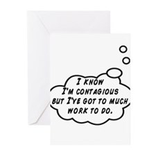 Contagious Greeting Cards (Pk of 20)