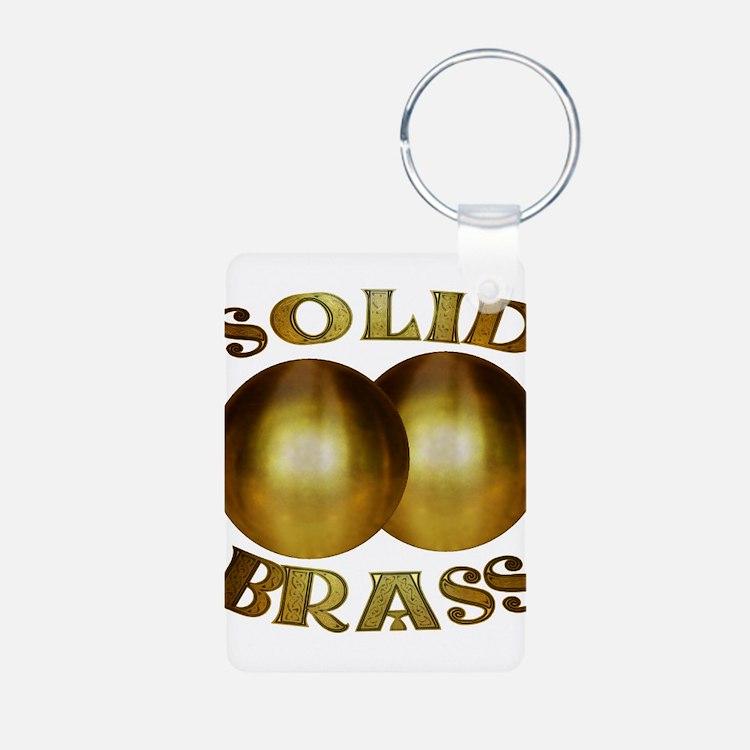 Cute Brass balls Keychains