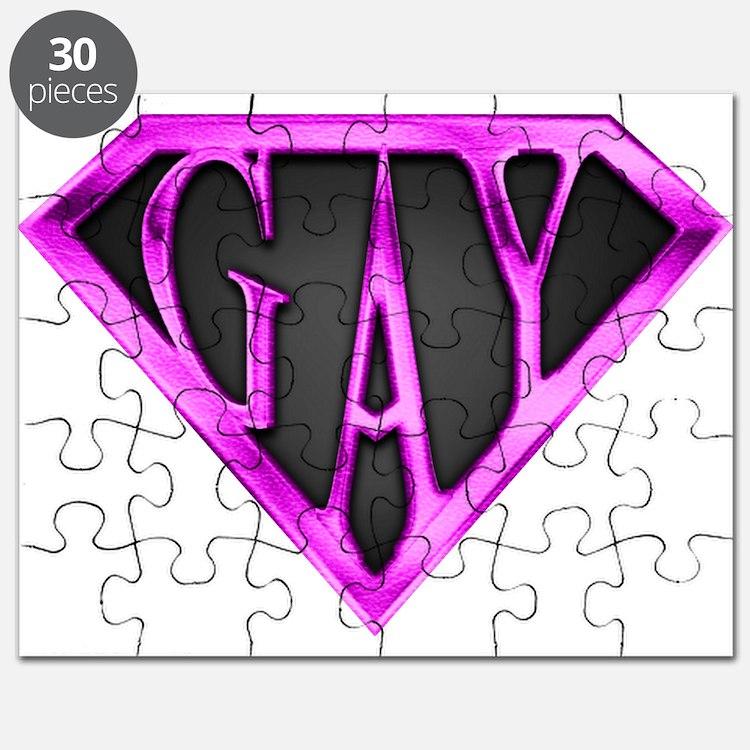 SuperGay(Pink) Puzzle