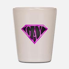 SuperGay(Pink) Shot Glass