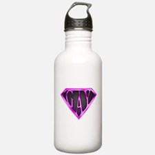 SuperGay(Pink) Water Bottle