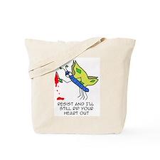 WildEyedPixie - EvilButterfly Tote Bag