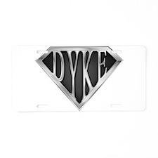 SuperDyke(metal) Aluminum License Plate