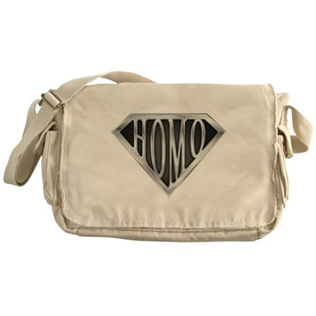 SuperHomo(metal) Messenger Bag