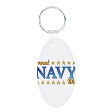 Proud Navy Wife Keychains