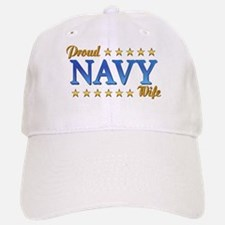 Proud Navy Wife Baseball Baseball Cap