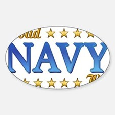 Proud Navy Wife Decal