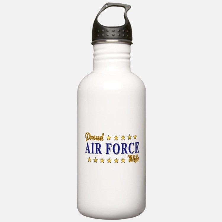 Air Force Wife Water Bottle