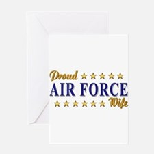Air Force Wife Greeting Card