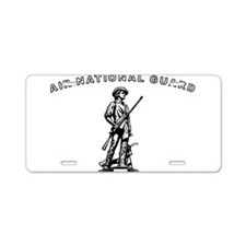 Air National Guard Aluminum License Plate