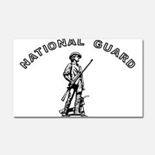 Army National Guard Car Magnet 20 x 12