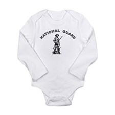 Army National Guard Long Sleeve Infant Bodysuit