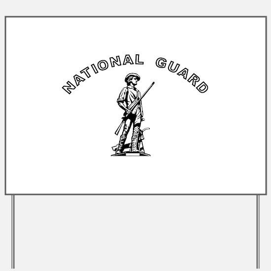 Army National Guard Yard Sign