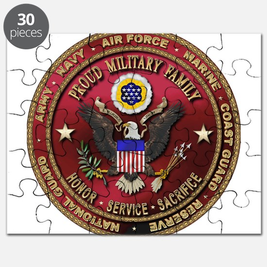 Proud Military Family Puzzle