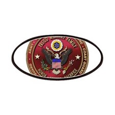 Proud Military Family Patches