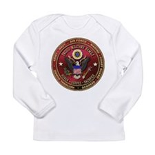 Proud Military Family Long Sleeve Infant T-Shirt