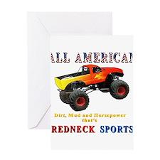 Redneck Sports Greeting Card