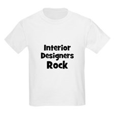 INTERIOR DESIGNERS  Rock Kids T-Shirt